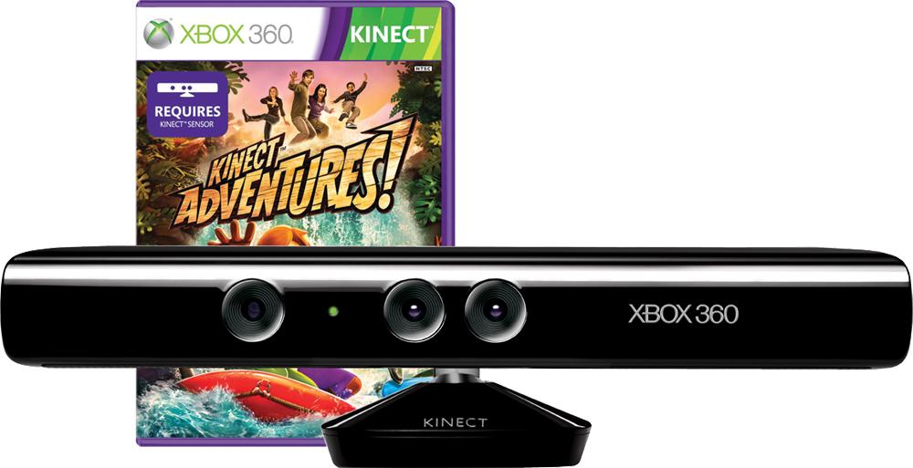Xbox 360 Kinect kiegészít? szenzor + Kinect Adventures OEM (csak