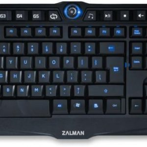 Zalman ZM-K400G billentyűzet fekete USB (angol)
