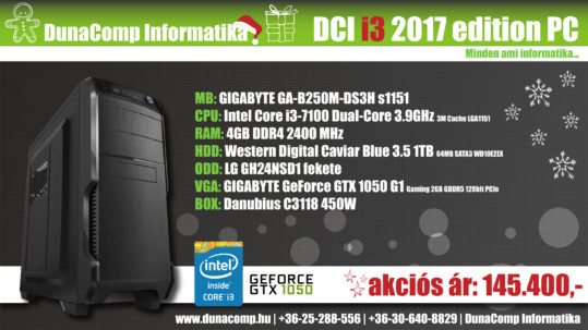 DCI i3 2017 edition PC
