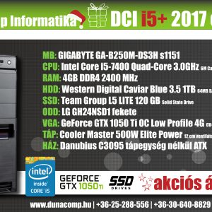 DCI i5+ 2017 edition PC