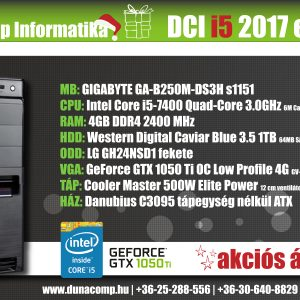 DCI i5 2017 edition PC