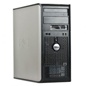 Dell Optiplex 380 MT Intel Core 2 Duo E7500 (2.93 GHz, 3MB L2, 1066FSB) 4GB 250GB DVD - asztali számítógép PC
