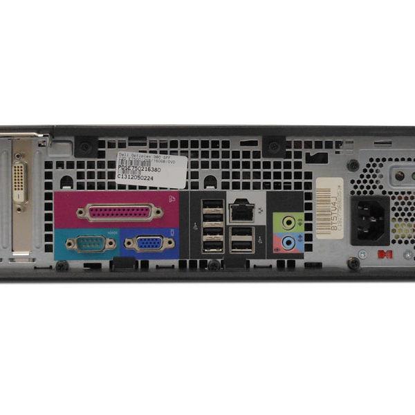 DELL OPTIPLEX 380 SFF INTEL PENTIUM E6700 (3.2Ghz, 2MB L2, 1066FSB) 4GB 250GB DVD - asztali számítógép PC